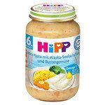 HIPP Био бебешко пюре паста с филе от треска и зеленчуци 6м+ 190 гр.